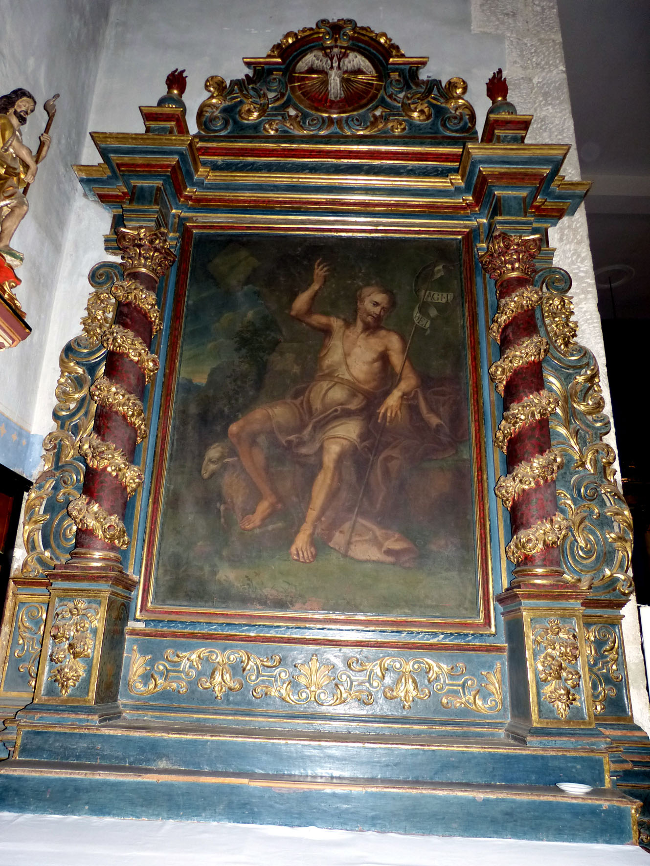 Retable de Saint-Jean-Baptiste