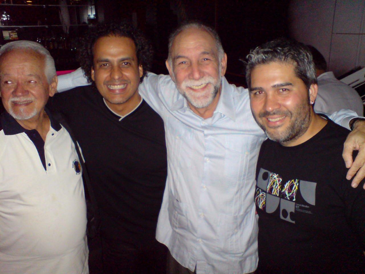 """Salvador Soteldo, Yrvis Mendez y Carlos Morean """"Los Darts""""  - Raimundo Nieves"""