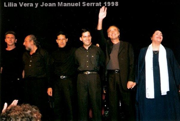 Lilia Vera & Joan Manuel Serrat 1998  - Raimundo Nieves