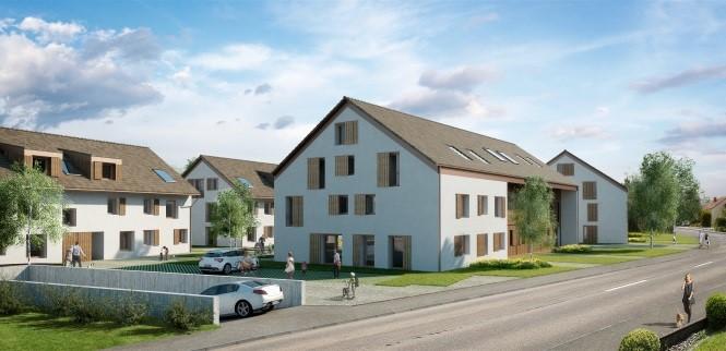 Wohnungsüberbauung Neuendorf - Ihr Profi für Dächer und Wände Kurt Strub Riken