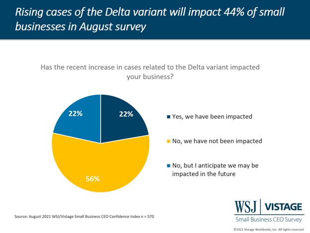 Delta variant quells economic surge among small businesses