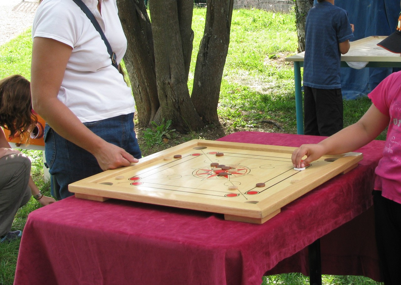 Billard Indien : Carrom