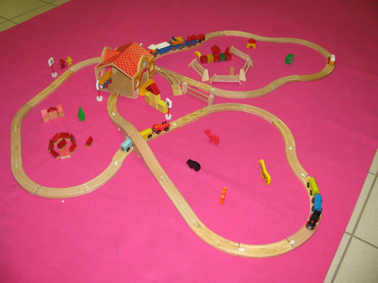 le circuit de train