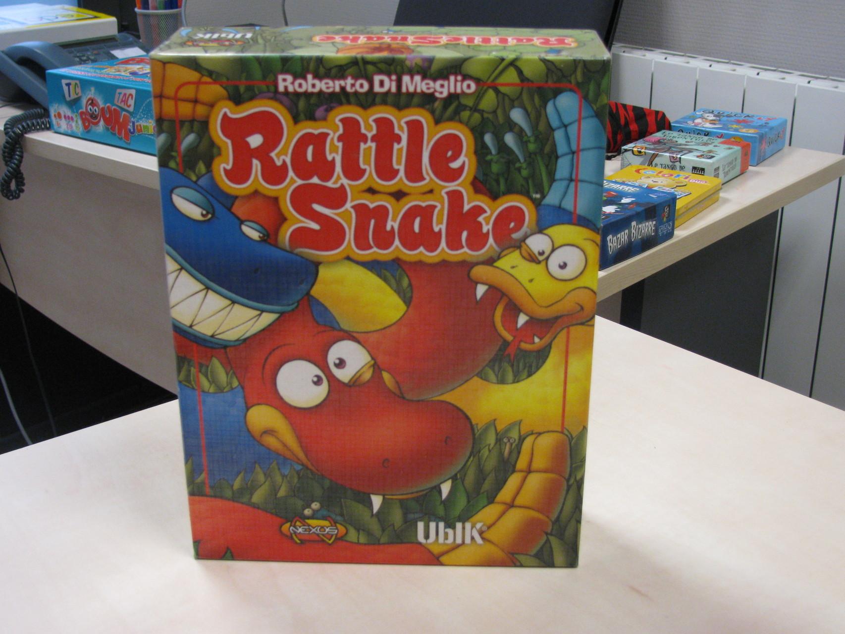Les Jeux d'adresse et de motricité (sans rapidité): Rattle snake