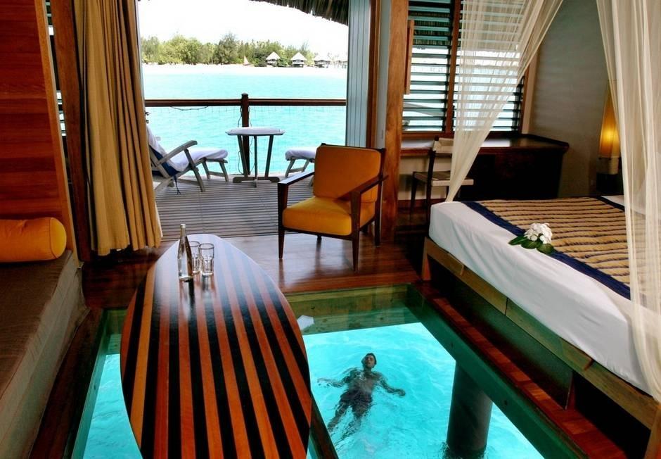 ル・メリディアン・リゾートのバンガロー【ボラボラ島】
