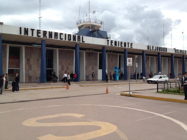 クスコの空港