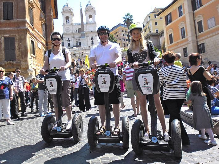 via flickr, image credit: Segway Rome Tours