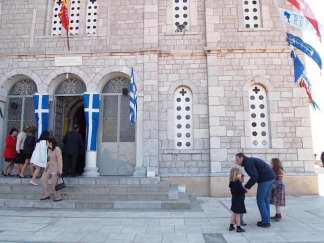 教会での礼拝