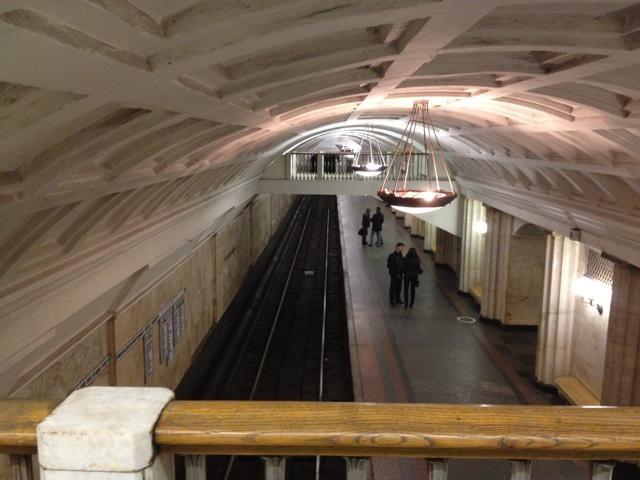 モスクワの地下鉄駅