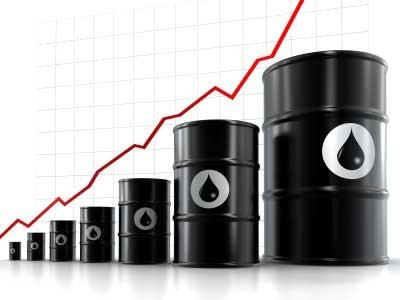 原油価格の上昇