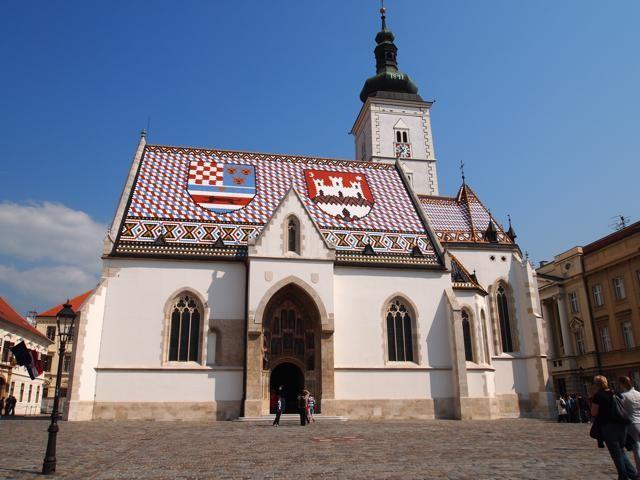 聖マルコ教会の正面