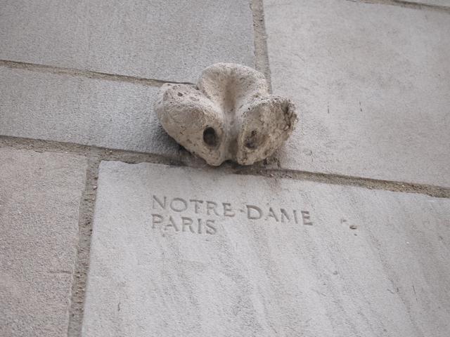ノートルダム大聖堂ーパリー