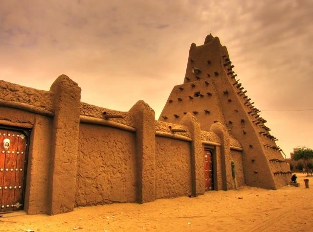 サハラ砂漠の真ん中にある町、トンブクトゥ