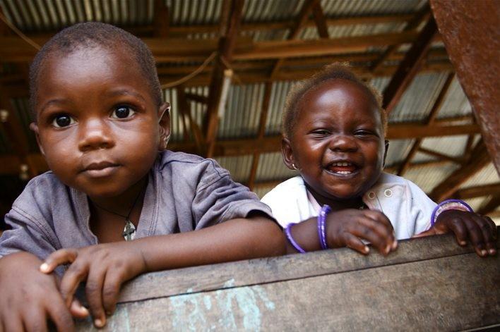 貧しい国の子どもたち