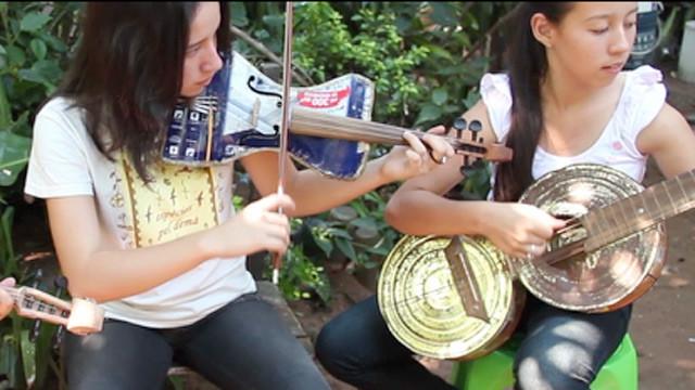 リサイクルの楽器