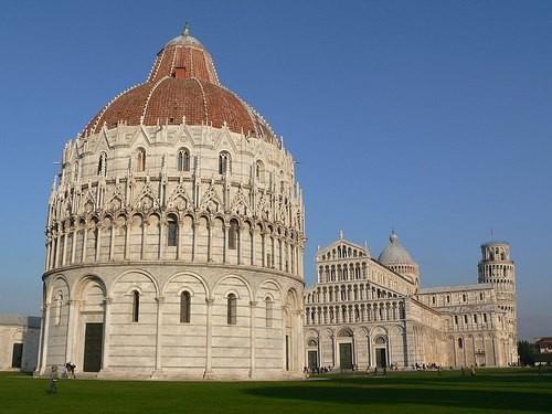 ピサの洗礼所と大聖堂 by luca bardazzi