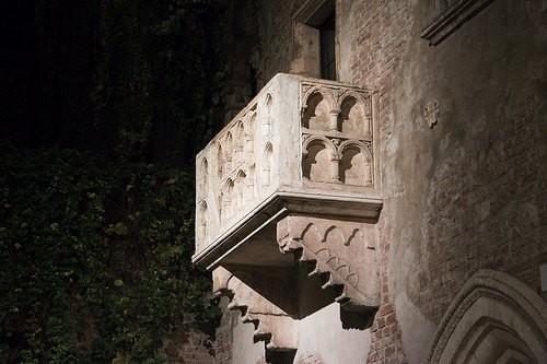 ジュリエッタの家にあるバルコニー by Gioruggy