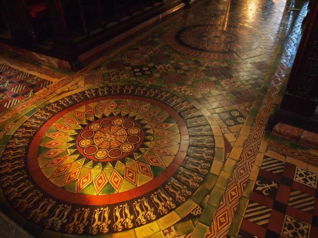 聖パトリック大聖堂の床