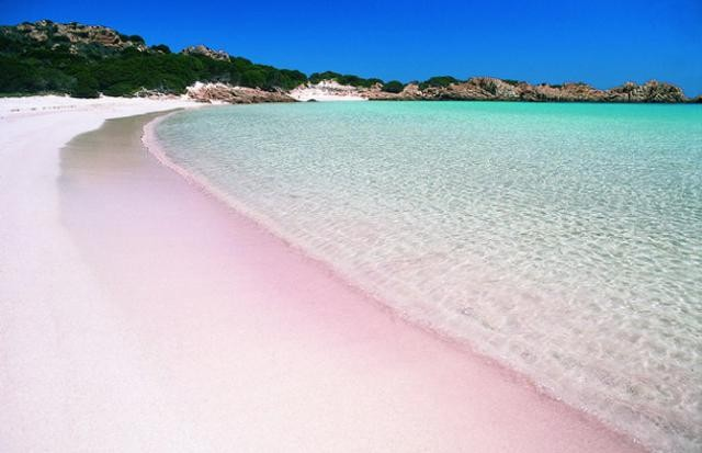 Pink Sand Beaches, Bahamas