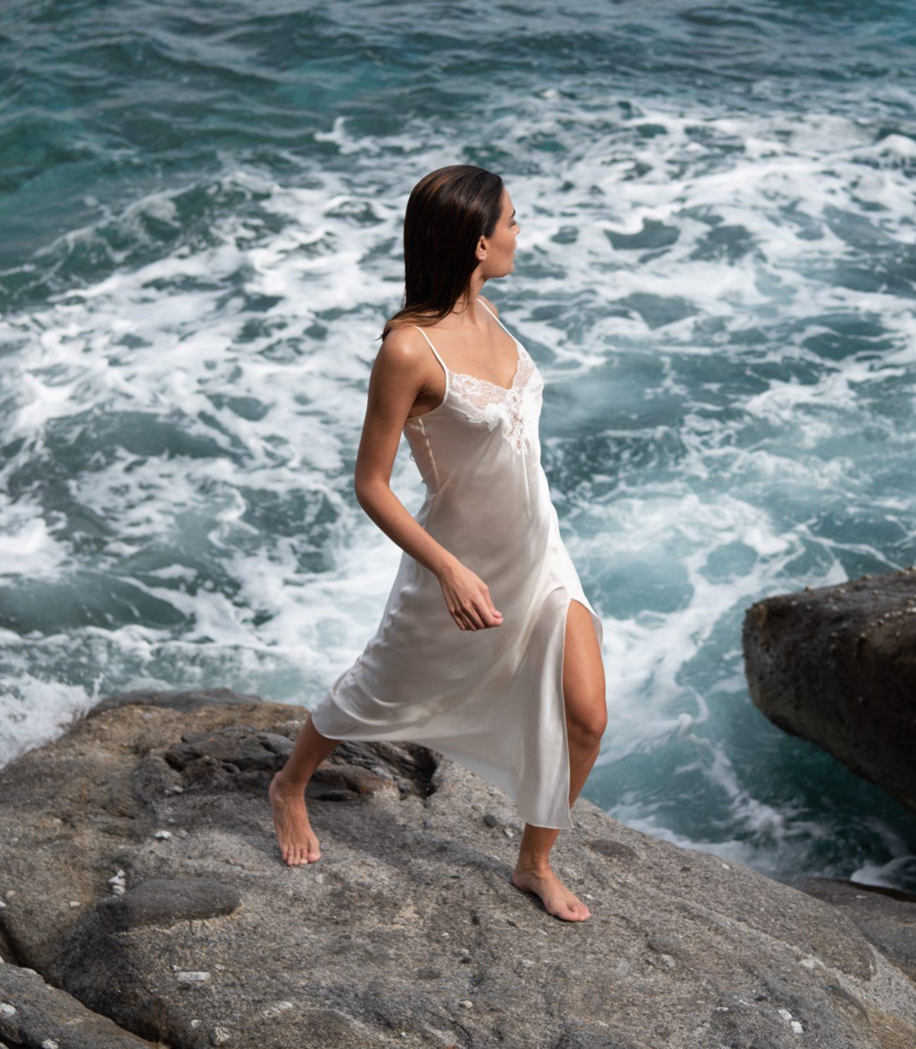 chemise de nuit soie naturelle lingerie lugdivine 13