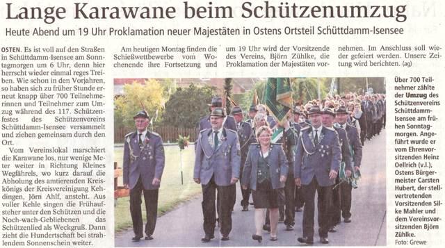 Schützenfest 2018 (Quelle: NEZ 16.07.2018)