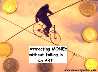 apply this difficult balance of attracting money