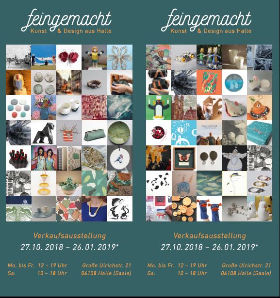 FEINGEMACHT II, 2018, flyer