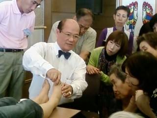 2010年陳会長足もみイベント(高松)