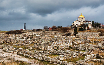 世界遺産「古代都市[タウリカのヘルソネソス]とそのホーラ」