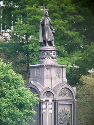 キエフのウラジミール1世像