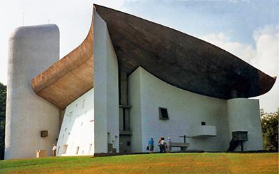 ロンシャンのノートルダム・デュ・オー礼拝堂