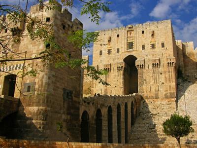 シリアの世界遺産「古都アレッポ」登録のアレッポ城