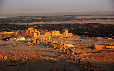 世界遺産「パルミラの遺跡」