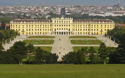 ウィーンのシェーンブルン宮殿