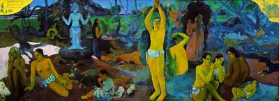 ポール・ゴーギャン「我々はどこから来たのか? 我々は何者か? 我々はどこへ行くのか?」1897-98年、ボストン美術館