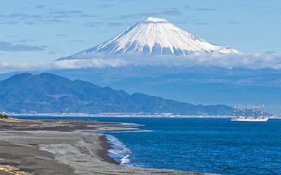 世界遺産「富士山-信仰の対象と芸術の源泉」の三保松原