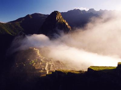 ペルーの世界遺産「マチュピチュの歴史保護区」登録のマチュピチュ