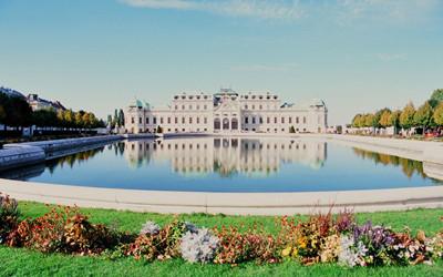 ウィーンのベルヴェデーレ宮殿