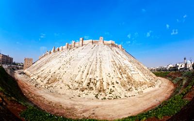 世界遺産「古都アレッポ」のアレッポ城