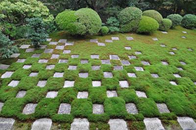重森三玲作庭の東福寺方丈北庭