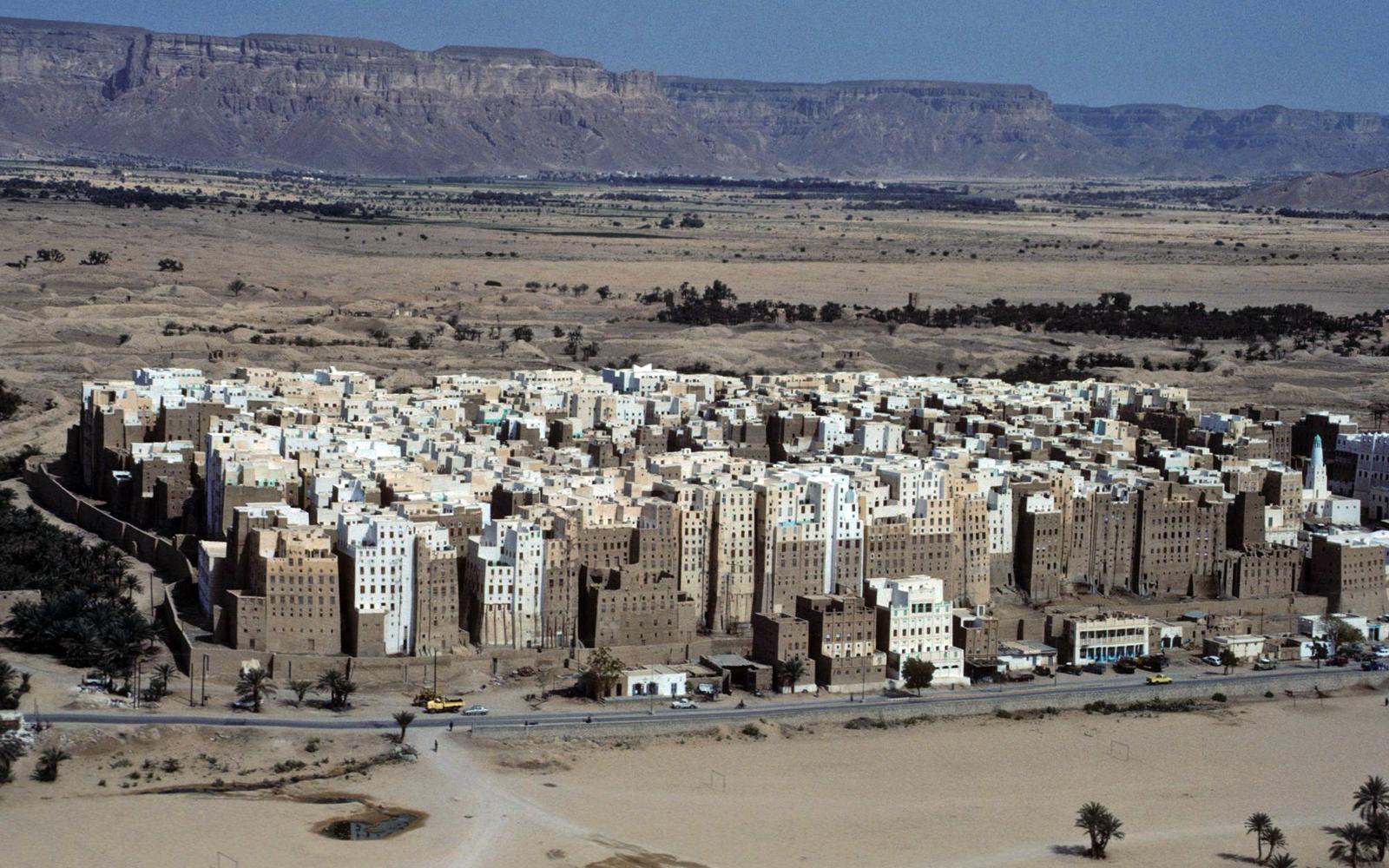 イエメンの世界遺産「シバームの旧城壁都市」