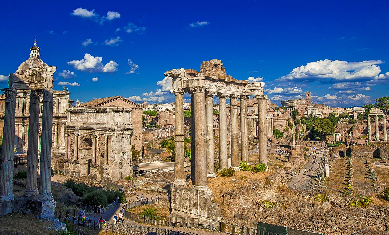 建築07 ローマ建築 , ART+LOGIC\u003dTRAVEL [旅を考えるweb]