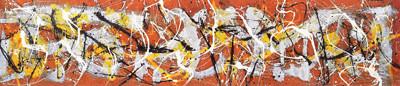 ジャクソン・ポロック「ナンバー7、1950(部分)」1950年、ニューヨーク近代美術館