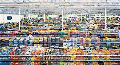アンドレアス・グルスキー「99セント」1999年