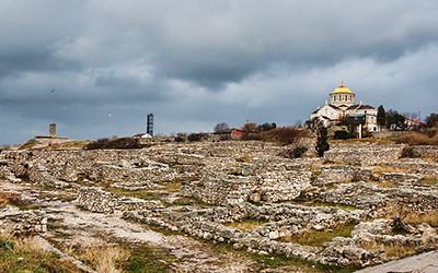 世界遺産「古代都市[タウリカのヘルソネソス]とそのホーラ」登録の聖ウラジーミル大聖堂