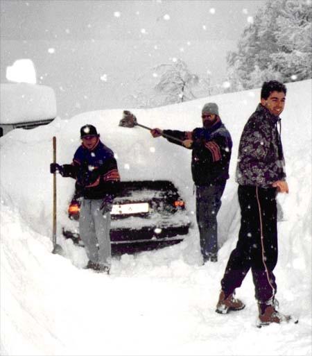 Wanderwochenende Fontanella 1999