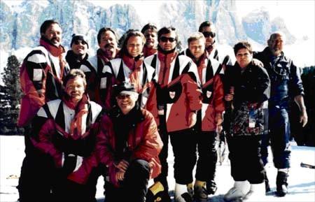 Skiausfahrt nach Canazai/Südtirol 1997