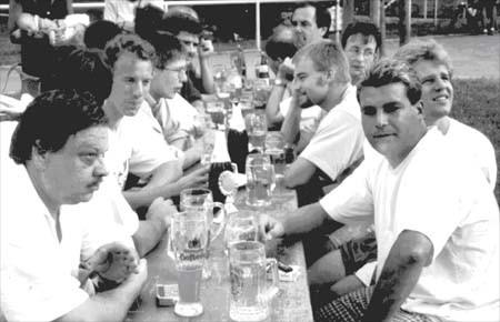 Freizeitfuflballturnier am Sportfest 1997