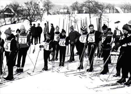 Dorfmeisterschaften in Oberbrüden 1963