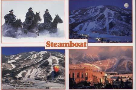 Ausfahrt nach Steamboat / USA Dezember 1996